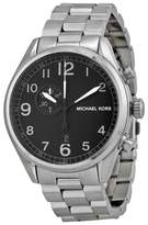 Michael Kors MK7066 Hangar Black Dial Stainless Steel Men
