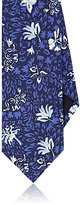 Drakes Drake's Men's Floral-Print Silk Necktie