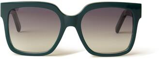 Mulberry Portobello Sunglasses Black Bio-Acetate