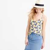 J.Crew Carrie cami in spring meadow