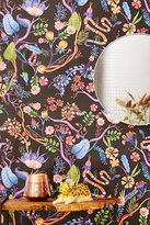 Urban Outfitters Whimsical Floral Removable Wallpaper