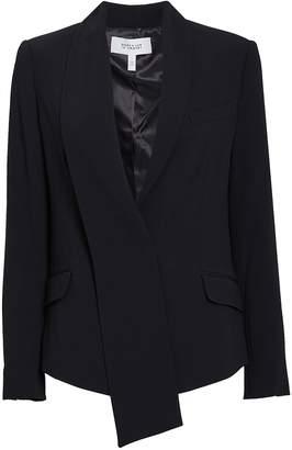 Derek Lam 10 Crosby Telma Asymmetrical Shawl Collar Blazer