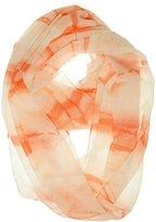 Calvin Klein Womens' Horizons Chiffon Loop Scarf
