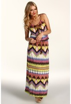 D.E.P.T Eclectic Jersey Maxi Dress Women's Dress