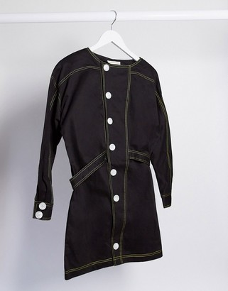The East Order dorje jacket mini dress