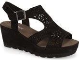 Gabor Perforated Wedge Sandal (Women)