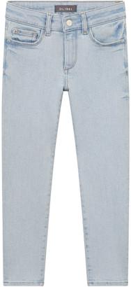 DL1961 Girl's Chloe Light-Wash Denim Skinny Jeans, Size 7-16