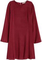 H&M Short Dress - Burgundy - Ladies