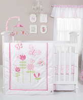 Trend Lab Floral Fun Crib Bedding Set