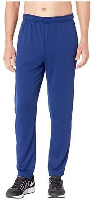 Nike Dry Training Regular Pant (Blue Void/Black) Men's Workout