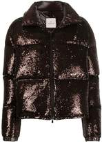 Moncler Sequinned Puffer Jacket
