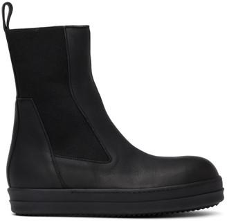 Rick Owens Black Bozo Chelsea Boots