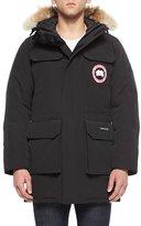 Canada Goose Citadel Fur Hood Parka, Black