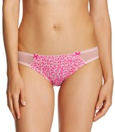 Xhilaration Women's Cotton and Mesh Bikini