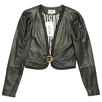 ALICE by Temperley \N Black Leather Jackets