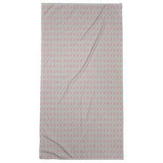 ArtVerse Katelyn Elizabeth Full Color Stripe Diamonds Beach Towel - Poly/Cotton