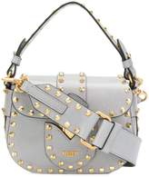 Moschino studded satchel mini bag