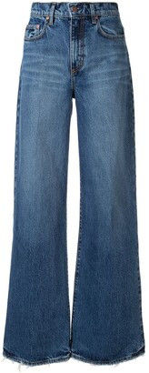 Nobody Denim Skylar wide-leg jeans