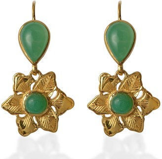 Emma Chapman Jewels Violetta Chrysoprase Earrings