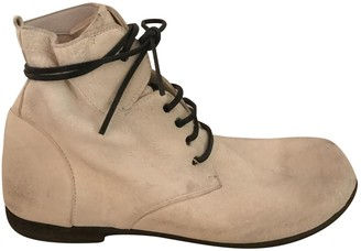 Marsèll Beige Leather Ankle boots