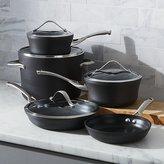 Crate & Barrel Calphalon Contemporary TM Non-Stick 9-Piece Cookware Set with Bonus