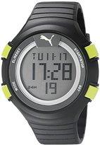Puma Unisex PU911281001 Faas 100 L black yellow Digital Display Watch