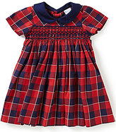 Edgehill Collection Baby Girls 3-24 Months Plaid Smocked Dress