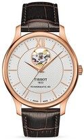 Tissot Tradition Powermatic 80 Open Heart Watch, 40mm