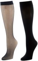Natori 2-Pack Trouser Socks