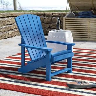 Beachcrest Home Alanna Adirondack Kids Chair Color: Red