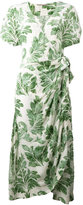 Ermanno Scervino plant print dress - women - Silk/Viscose - 46