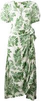 Ermanno Scervino plant print dress