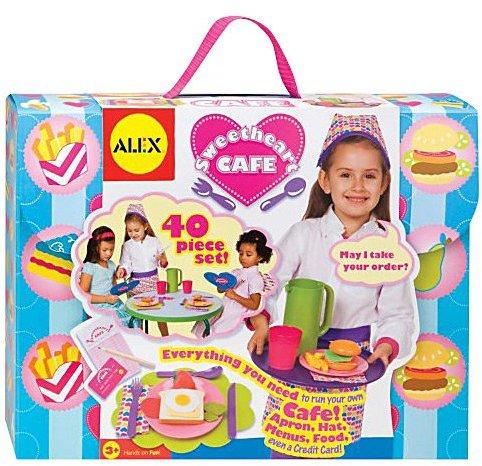 Alex Sweetheart Café Let's Play Restaurant Set