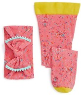 Toddler Girl's Baby Bling Birthday Confetti Tights & Head Wrap Set