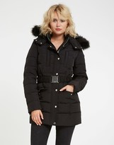 Morgan Faux Fur Puffer Coat