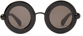 Christopher Kane Round-frame acetate sunglasses