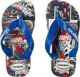 Havaianas Kids' Marvel Top Spiderman Sandal White Flip Flop