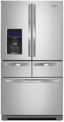 Whirlpool WRV986FDEM 26 cu. ft. Double Drawer French Door Refrigerator with StoreRight System- Stainless Steel