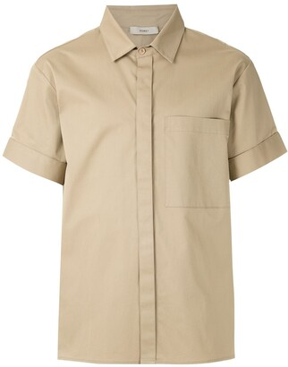 Egrey Patch-Pocket Short-Sleeved Shirt