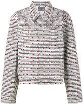 Ashley Williams - Boys Girls print denim jacket - women - Cotton - M