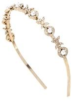 Oscar de la Renta Crystal-embellished Headband