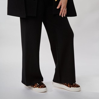 Moda In Pelle Jessica Trouser Black Fabric