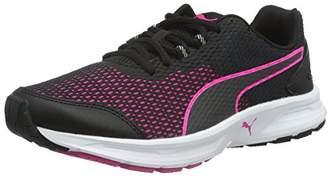 Puma Descendant V4 WN's, Women's Competition Running Shoes, Black Black-Pink Glo 02, (37.5 EU)