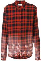 Faith Connexion oversized tartan shirt