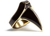 Dominic Jones DJ By Gold Plated Enamel Claw Ring
