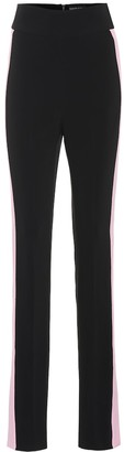 David Koma High-rise skinny cady pants