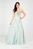 Terani Prom - Embelished Low Back Prom Gown 1711P2872