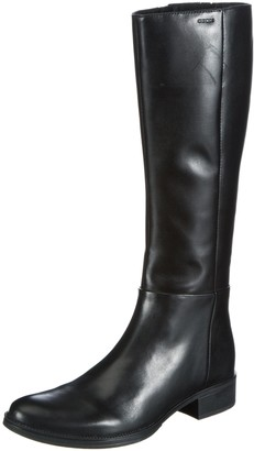 Geox Women's D MELDI P Ankle Riding Boots