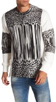 Diesel Joe Printed Long Sleeve Sweater