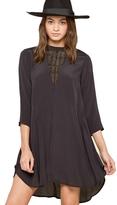 Amuse Society Good Vibes Lace Front Dress